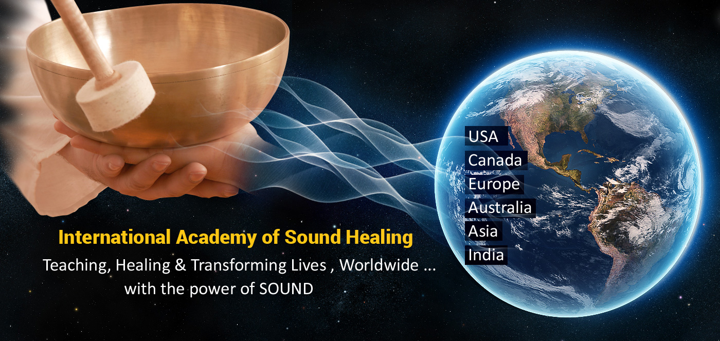 Welcome to International Academy of Sound Healing – World's